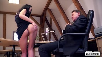 Sexy Young Lady Gets Fucked For Money On Desk By Patronu Excited