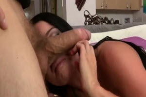 The Brunette Turned On And Fucked By A Hot