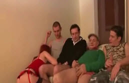 Gangbang For The Perverse Slut