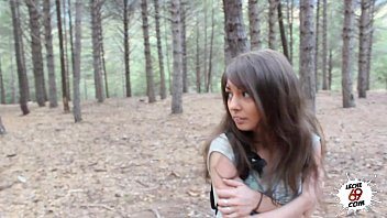 Fuck Forced Xxx, Brunette Raped In The Forest