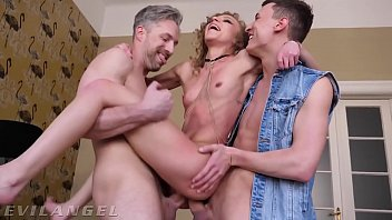 Penetrated Anally By Two Men