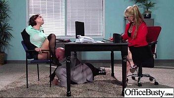 Hot Girl (krissy Lynn) Big Boobs Banged Hardcore In Office Vid-22