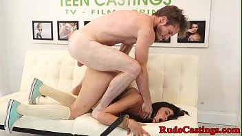 Real Teen Restrained And Gagged At Casting