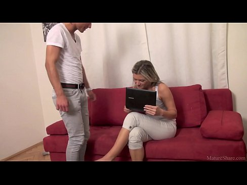 Skinny Mom Fucked By Her Young Boyfriend