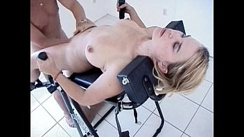 Sex With A Sexually Obsessed One He Puts His Ex-Wife On A Chair And Licks Her Pussy