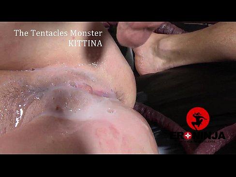 The Tentacles Monster  Kittina Ivory