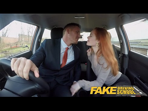 Fake Driving School Ella Hughes Fails Her Test On Purpose