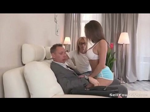 Boss Fucks His Wife Infront Of Him For Money And Forgivness