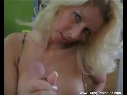 Blonde Milf From Holland Blowjob
