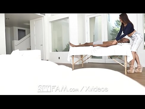 Spyfam Busty Step Mom Isis Love Massages Step Sons Big Dick
