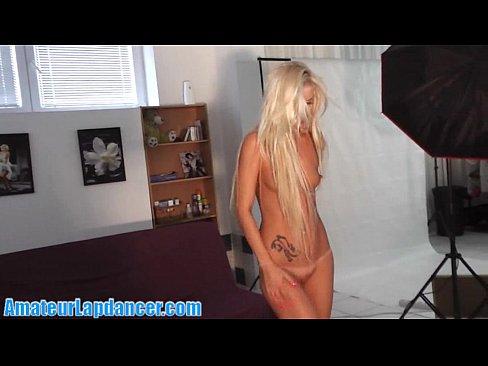 Sexy Blonde Lapdances And Sucks My Cock