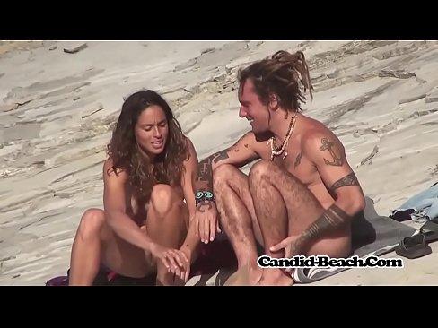 Hairy Pussy Fit Nudist Ladies Voyeur Beach