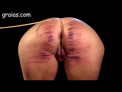 Girl Ass Brutally Caned