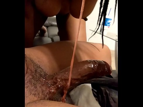 Ebony Slut Finger Fucking Deepthroating Peeing And Choking