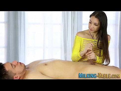 Masseuse Giving Blowjob