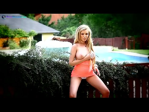 Donna Bell Wants To Get Fucked In The Garden