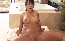 Big Tits Asian Babe Massage And Anal