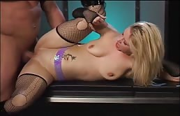The Blonde Takes It In The Ass After Masturbation