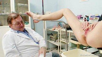 Blond Nurse Bitch Gets Perverted On Gynchair