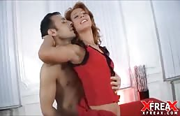 Gangbang With A Redhead With A Nice Tan